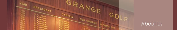 About The Grange Golf Club